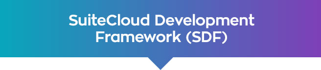 suitecloud development framework