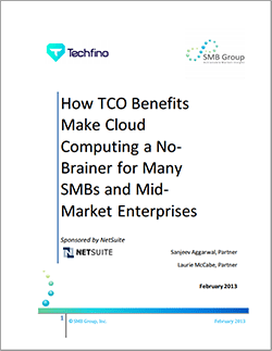 The TCO Benefits of Cloud Computing for the Mid-Market Enterprise