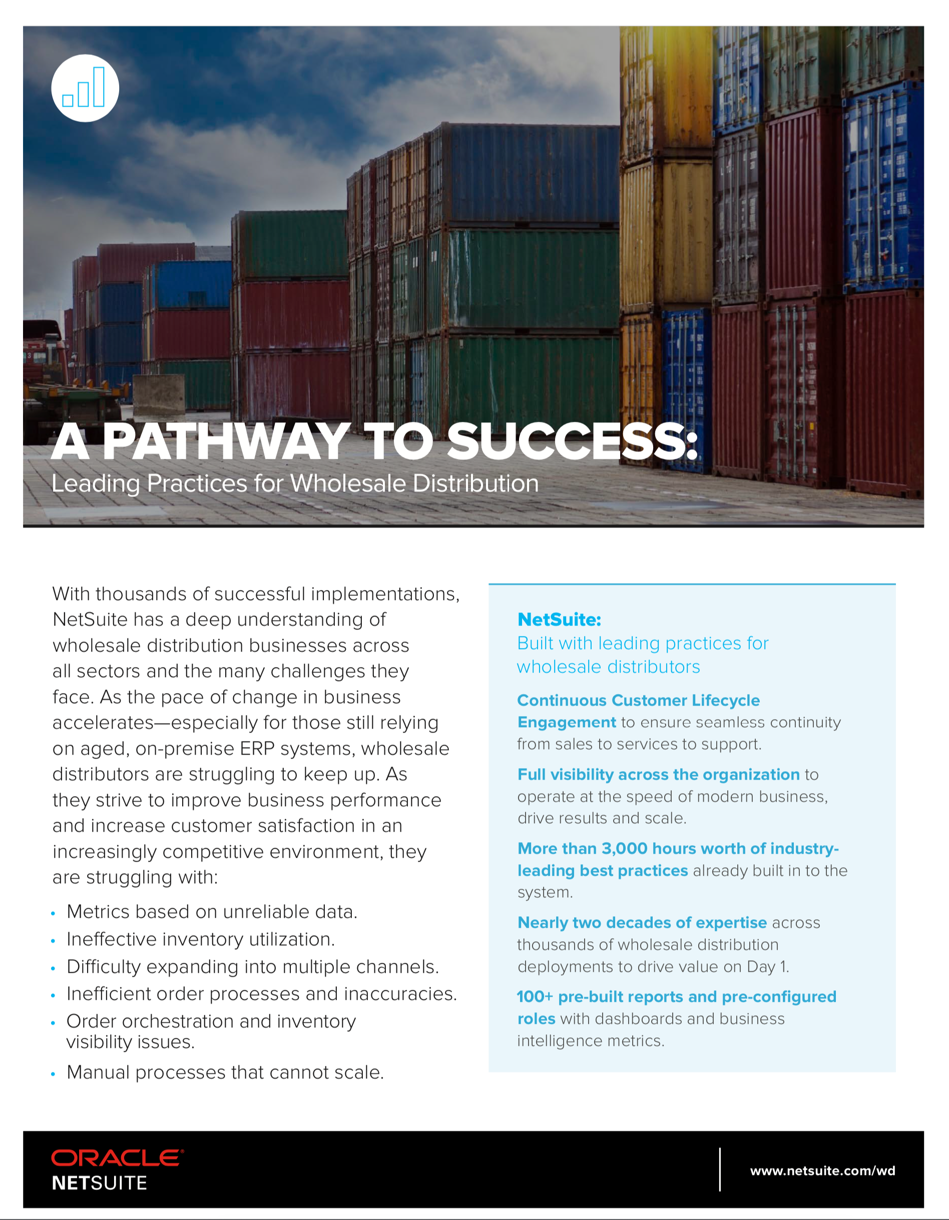 A Pathway to Success: Leading Practices for Wholesale Distribution