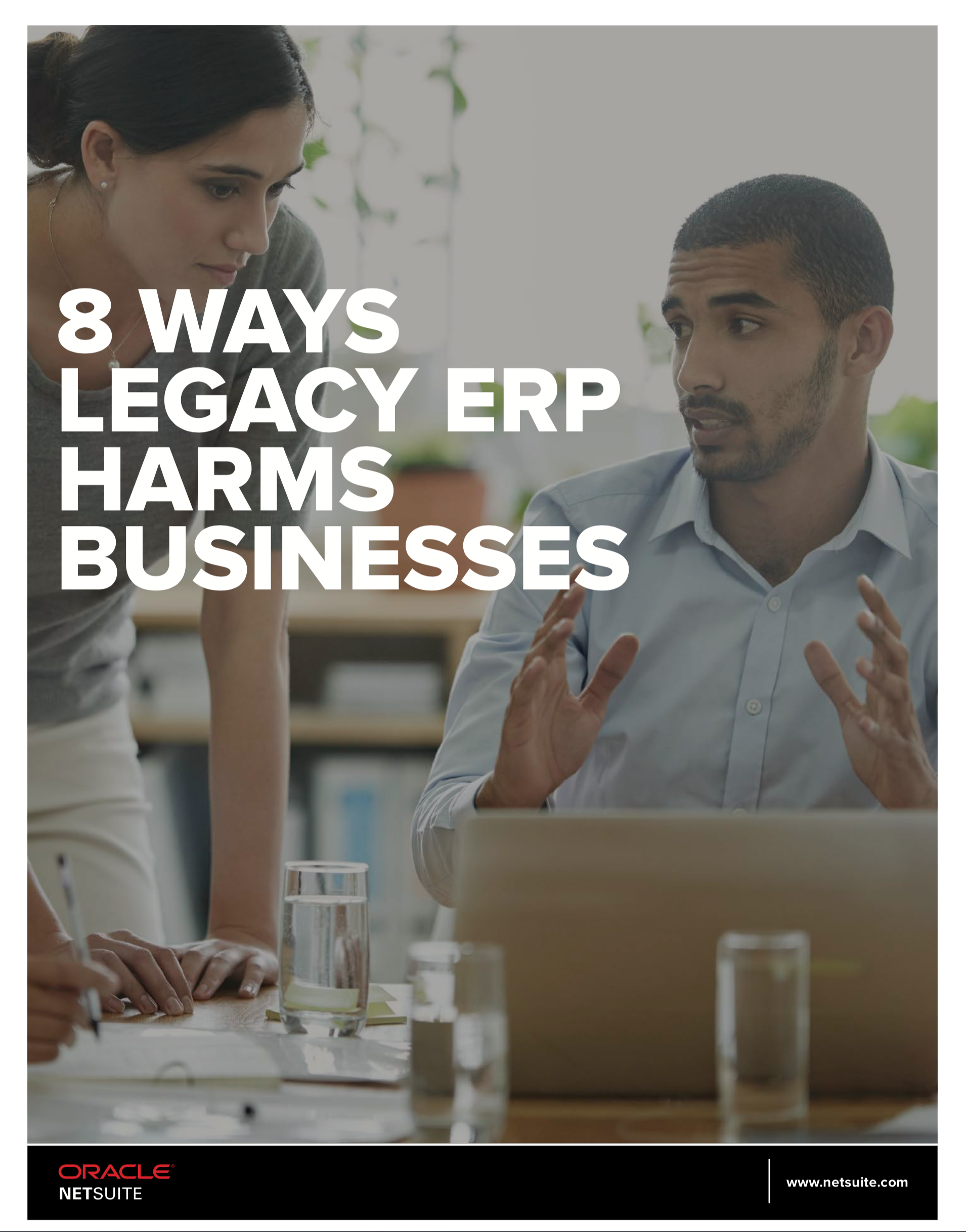 8 Ways a Legacy ERP Harms Business