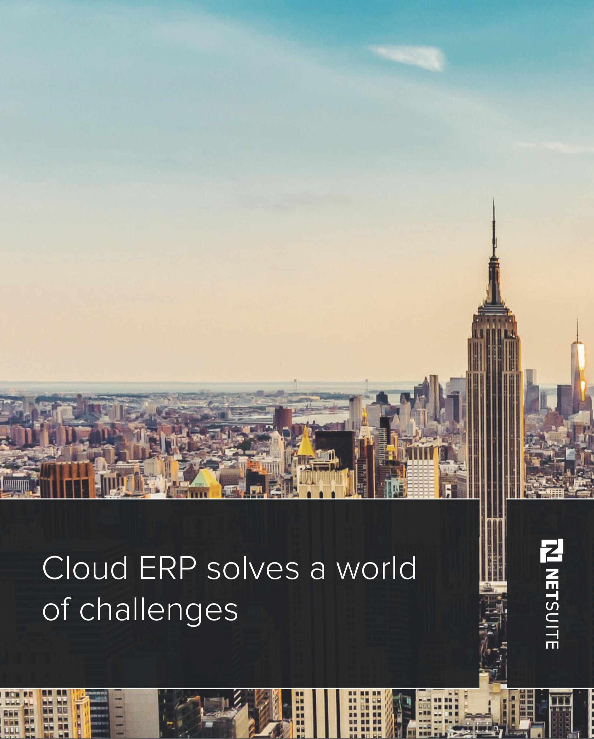 Cloud ERP Solves a World of Challenges