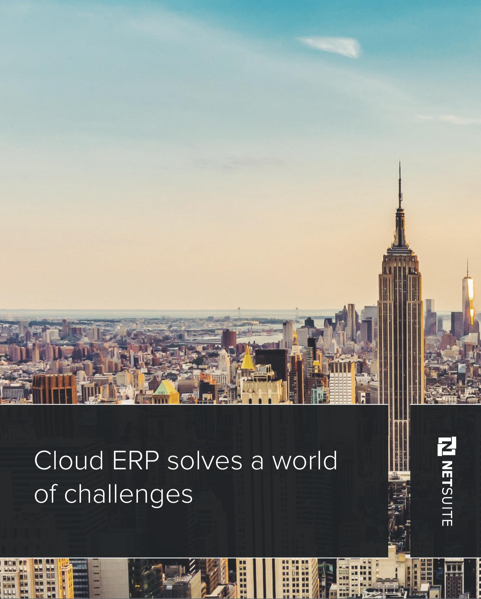 Cloud ERP solves a world of challenges - Case studies